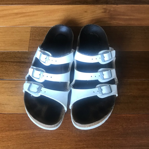 cc671b55d Birkenstock Shoes - CLEARANCE SALE!! White Three Strap Birkenstocks